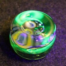 Handmade Art Glass Marble Stand-UV Bullseye Cluster- by:A R Buckner
