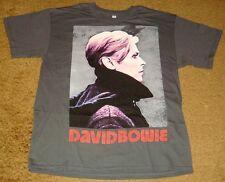 David Bowie Low Portrait T-Shirt Size Large - New! Rock & Roll!