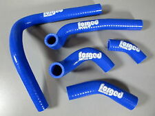 Forged Racing Honda CR250 CR250R Radiator Hose Tube Silicone 2003-2008 Blue