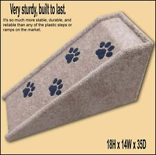 Dog Ramp 18Hx14Wx35D, Cat Ramp, Pet Ramp. Built to last.Veterinarian recommended