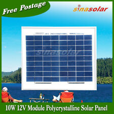 10w 12V High Efficiency Polycrystalline Solar Panel