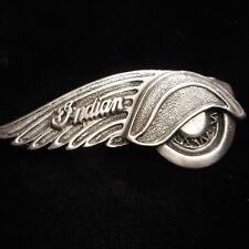 FANTASTIC INDIAN MOTORCYCLE PIN GREAT BIKER PIN ** OLD INDIAN ***** lic 1999