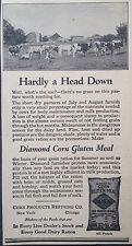VINTAGE AD 1928 (XX50)~DIAMOND BRAND CORN GLUTEN MEAL