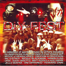 Diy-Fest Vol. 1 - Various Artists (CD 2001) Dillinger Escape Plan,Biafra,Mystic