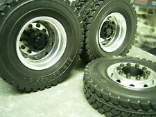 1/14 rc car truck rubber tires  for Tamiya Man scania R470 R 620 1851 Actros