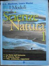 MODULI DI SCIENZE DELLA NATURA VOL.1 - D.MACKEAN e L.MASINI - BRUNO MONDADORI