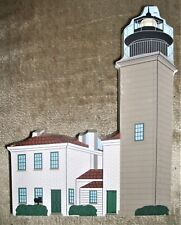 Vintage Cat's Meow Beavertail Rhode Island Lighthouse