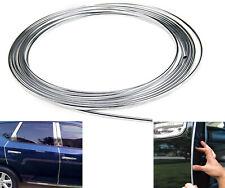 6M Roll Car Auto Edge Guard Moulding Trim Strip U-profile Chrome Silver