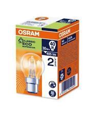 Osram B22d 30 Watt Halogen Globe Halogen Eco Bulb [Energy Class D]