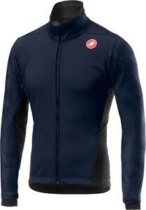 Castelli Women's Dinamica Windstopper Cycling Jacket Navy Size Small