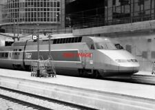 PHOTO  FRENCH TRAIN - TGV PARIS
