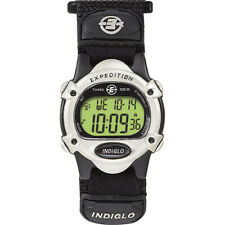 Timex Expedition® Women's Chrono Alarm Timer Silver/Black T47852