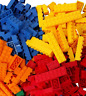 New 1000 Pieces Building Bricks Compatible with Major Brands Blocks Bulk Big Bag