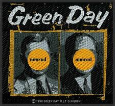 OFFICIAL LICENSED - GREEN DAY - NIMROD SEW-ON PATCH PUNK ROCK DOOKIE