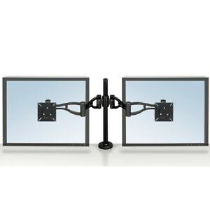 Fellows Dual Monitor Arm -Professional Series Depth Adjustable