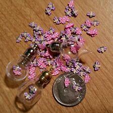 20 TINY MIX DRAGONFLY Magical Fairy Dust  Make A DIY Globe Charm Pendant 3x5m