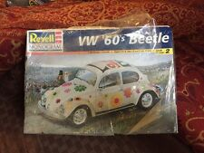 1998 REVELL MONOGRAM HIPPIE LOVE BUG VW '60'S BEETLE MODEL KIT Sealed