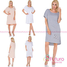 Summer/Beach Short Sleeve Regular Size Dresses for Women