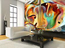 Virtual Música Foto Mural Papel Pintado Gigante Pared Papel Decoración Póster