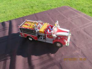 FIRST GEAR - MACK L MODEL PUMPER / FIRE TRUCK -1/34 DIECAST - CLINTON, MD