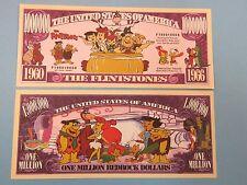 The FLINTSTONES Cartoon, Fred, Bam-Bam, Pebbles    $1,000,000 One Million Dollar