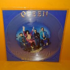 "1991 QUEEN - HEADLONG UK 12"" MAXI-SINGLE CLEAR PICTURE DISC VINYL RECORD RARE"