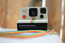 Vintage Polaroid One Step SX-70:White Rainbow / Rainbow Edition Collector's