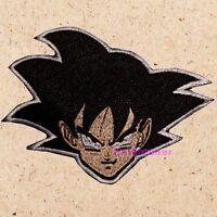 Goku Face Patch Dragon Ball Z DBZ GT Vegeta Piccolo Master Roshi Embroidered