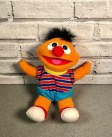 TYCO Vintage 1996 Tickle Me Ernie Sesame Street Giggle n Shake Soft Toy