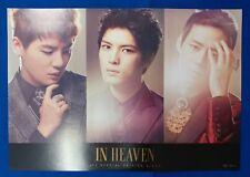 JYJ Tohoshinki - In Heaven B Ver. Official Poster New K-POP