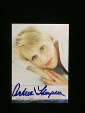 Andrea Thompson Signed Autographed Trading Card 24 Cnn Babylon 5 Nypd Blue Jag
