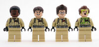 LEGO - Set of 4 Ghostbusters Minifigs From 75827 - New (Unbuilt/Pulled From Set)