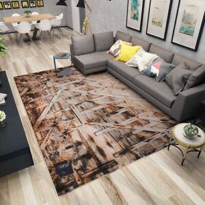 Modern Geometric Printed Indoor Area Rug Floor Pad Non-slip Doormat 7x10ft
