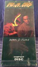 CD SEALED LONGBOX MC Jr. CAS Born 2 Flow 1991 Bossman Records NOdamage BORN2FLOW
