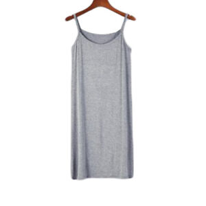 Ladies Plus Full Slips Modal Cotton Camisole Under Dress Underdress Petticoat #