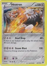 HEATRAN HOLO-FOIL POKEMON TCG 63/119 XY Phantom Forces RARE Card