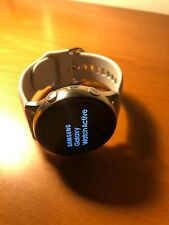 SAMSUNG GALAXY WATCH ACTIVE - SILVER - opened