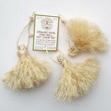 Organic Sisal Pom-Bell Pet Chew Toy for Rabbit Guinea Pig Rat Small Pets & Birds