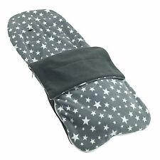 Kuscheln Sommer Fußsack Kompatibel mit Bugaboo Cameleon3 - Grau Star