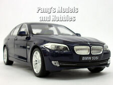 BMW 535i (535) 1/24 Scale Diecast Metal Model by Welly - Dark Blue