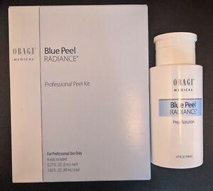 Obagi Blue Peel Radiance Professional skin peel 6 vial set with prep solution
