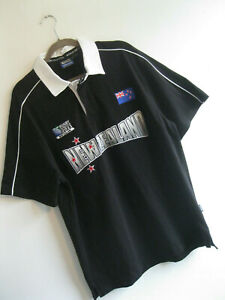 NEW ZEALAND | WORD CUP 2011 Collection All Blacks Rugby Union Jersey Shirt | L