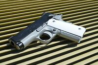 compact/ Officer 1911 grips (White) Colt, Kimber, RIA