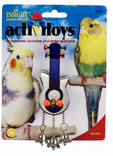 JW PET BIRD TOY GUITAR WITH BELLS PARAKEET COCKATIEL CANARY.FREE SHIP TO THE USA