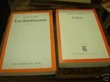 2 livres de patrick grainville colère / les flamboyants