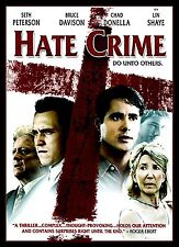 NEW DVD // HATE CRIME -  Seth Peterson, Chad E. Donella, Brian J. Smith, Bruce D