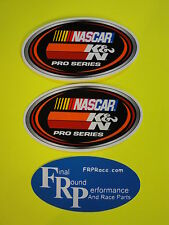 "K&N NASCAR PRO SERIES 6"" Pair of Stickers!!  FREE SHIPPING!!!!"