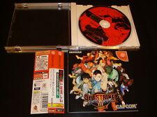 Street Fighter III 3rd Strike w/spine Sega Dreamcast Japan