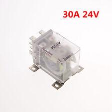 1PCS 24VDC 30A DPDT Power Relay Motor Control Silver Alloy