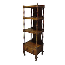 George IV/Regency Mahogany Whatnot/Book stand